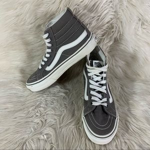 Vans Off The Wall High Top Shoes Size 6 W 4.5 M